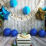 Birthday Backdrop Stock Images