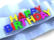 Birthday sign Stock Photo