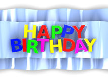 Birthday sign Royalty Free Stock Photo