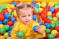 Birthday of smiling girl. Royalty Free Stock Image
