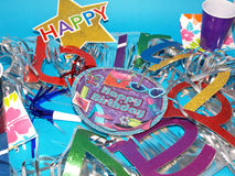 Birthday Supplies Stock Photography