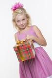 Birthday surprise gift Stock Photos