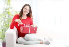 Birthday surprise Stock Images