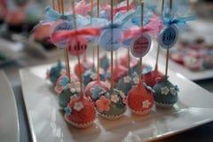 Birthday sweets Royalty Free Stock Photo