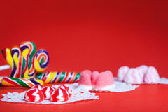 Birthday table setting (childhood) Stock Photos