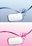 Birthday tags Royalty Free Stock Photography