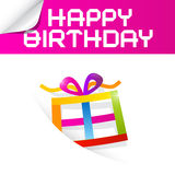 Birthday Theme Royalty Free Stock Photos