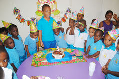 BIRTHDAY TO SCHOOL Royalty Free Stock Photography