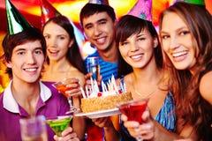 Birthday toast Royalty Free Stock Image