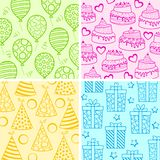 Birthday Wallpaper Royalty Free Stock Images