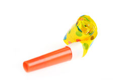 Birthday whistle Stock Photography