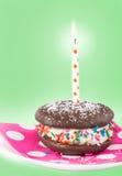 Birthday Whoopie pie Stock Photos
