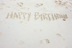 Birthday wish Royalty Free Stock Image