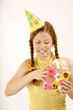 Birthday woman Stock Photography