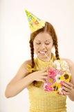 Birthday woman Stock Photography