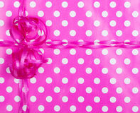 Birthday Wrapping Paper Background Royalty Free Stock Photography