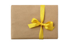 Birthday / xmas gift package Royalty Free Stock Image