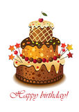 birthday02蛋糕 库存照片