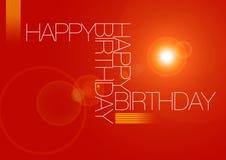 Birthday11 feliz Fotos de archivo libres de regalías