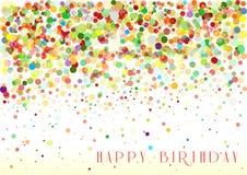 Birthday13 feliz stock de ilustración