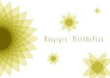 Birthday14 feliz ilustración del vector