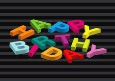 Birthday16 feliz Fotografía de archivo libre de regalías