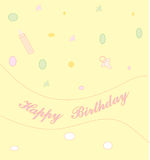 Birthday2 heureux Photographie stock libre de droits