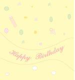 birthday2 szczęśliwy Fotografia Royalty Free