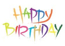 Birthday20 feliz Imágenes de archivo libres de regalías