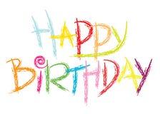Birthday21 feliz Fotos de archivo libres de regalías