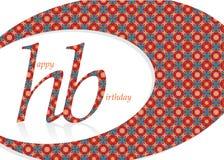 Birthday27 feliz ilustración del vector