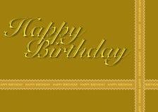 Birthday28 feliz Fotos de archivo libres de regalías