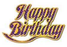 Birthday36 feliz ilustración del vector
