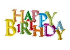 Birthday46 feliz Foto de archivo