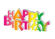 Birthday47 feliz Fotos de archivo