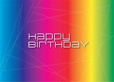 Birthday48 feliz Fotos de archivo libres de regalías