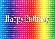 Birthday49 feliz Imágenes de archivo libres de regalías