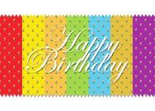 Birthday53 feliz Imagen de archivo libre de regalías