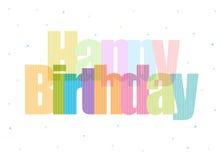 Birthday7 feliz Fotografía de archivo