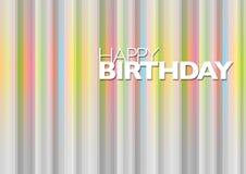 Birthday8 feliz Fotografía de archivo