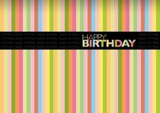 Birthday9 feliz stock de ilustración