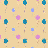 Birthdays balloons Stock Photo