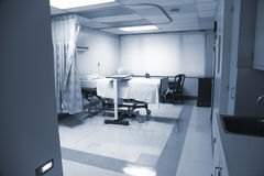 Birthing room. Empty birthing room at the hospital royalty free stock photography