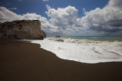 The birthplace of Aphrodite in Cyprus Stock Photo