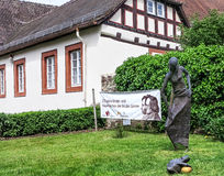 Birthplace of the Brothers Grimm in Steinau, Germany Stock Image