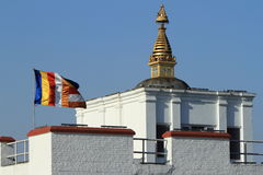 Birthplace of Buddha in Lumbini Nepal Royalty Free Stock Photo
