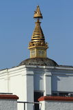 Birthplace of Buddha in Lumbini Nepal Stock Images