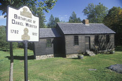 Birthplace of Daniel Webster Stock Image
