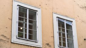 Birthplace of Wolfgang Amadeus Mozart in Salzburg, Austria. Birthplace of the famous composer Wolfgang Amadeus Mozart in Salzburg, Austria Stock Image
