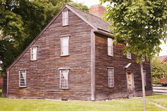Birthplace of John Adams. The 2nd President and Revolutionary War hero, Adams National Historical Park, Braintree, Quincy, MA, USA Stock Images